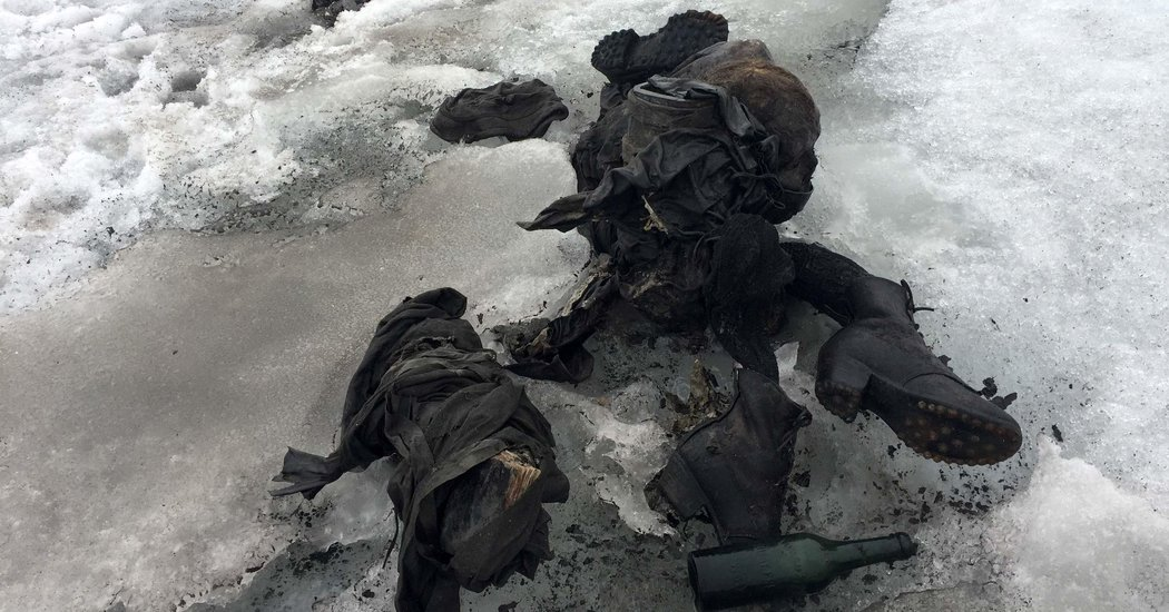 Bodies Found in Swiss Glacier Could Solve a Mystery From 1942