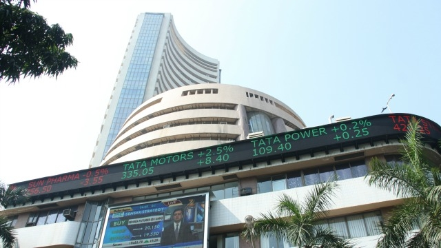BSE Sensex touches new all-time high on Wednesday.
