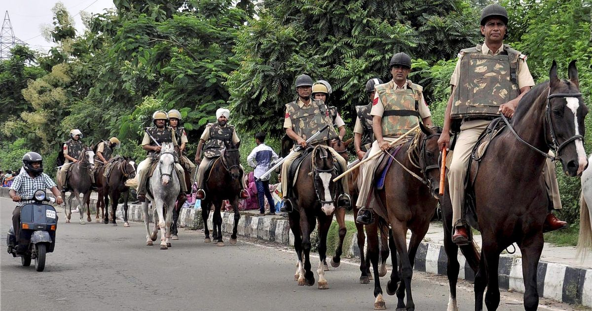 Ahead Of Ram Rahim Rape Verdict, Army In Panchkula.