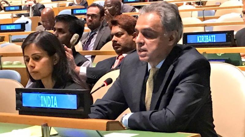 Pakistan loses out : India re-elected to UN body on economic, social issues.
