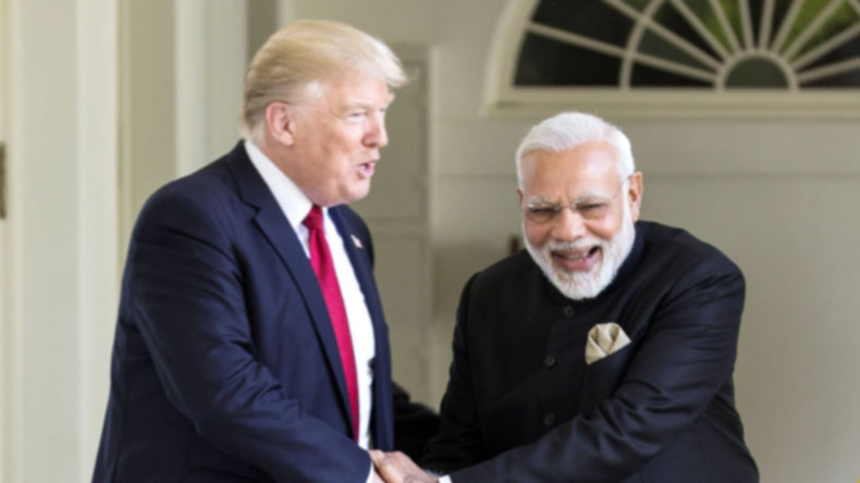 Donald Trump 'Waves At PM Modi, Walks Up To Him For Impromptu' Chat At G20 Summit