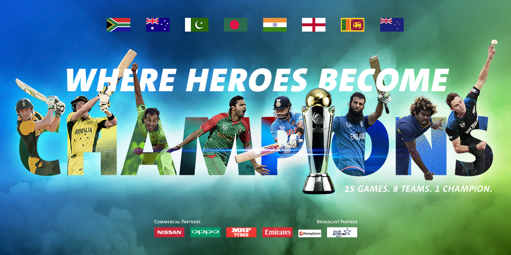 ICC Champions trophy 2017: A capsule look at all 8 teams