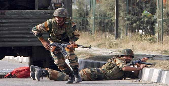 Terror Attack on Army Camp in J&K's Kupwara :2 terrorists killed,3 soldiers martyred.