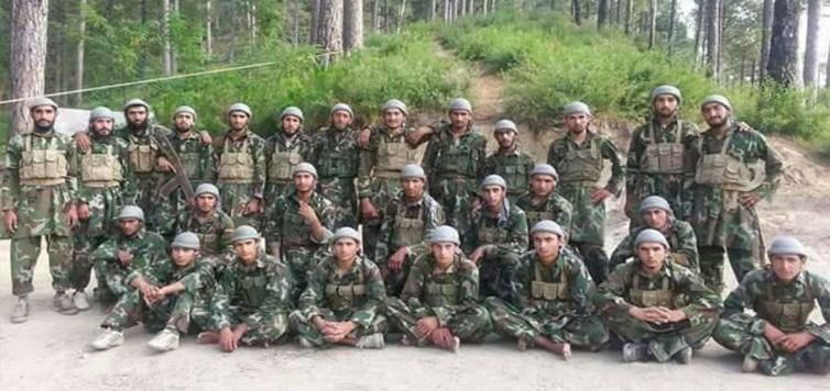 Pakistan's Latest Batch of Terror Cadets Pose For a Group Picture