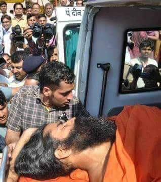 Fake Messages About Baba Ramdev�s Accident Death News Going Viral in Social Media.