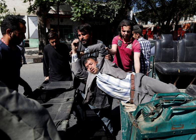 Several killed by car bomb in Kabul's diplomatic quarter