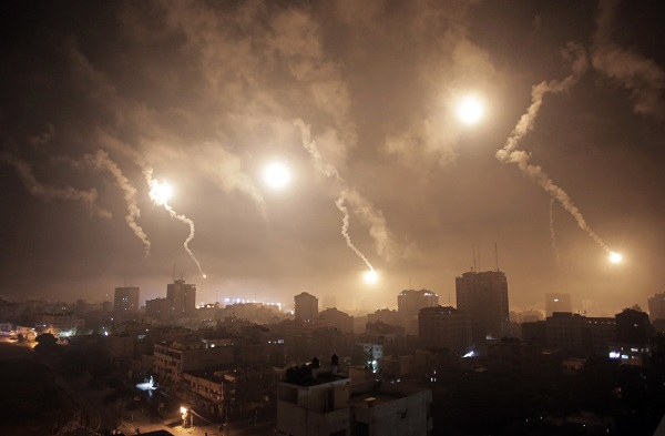 In dead of night: Missile fired from Gaza hits Israel