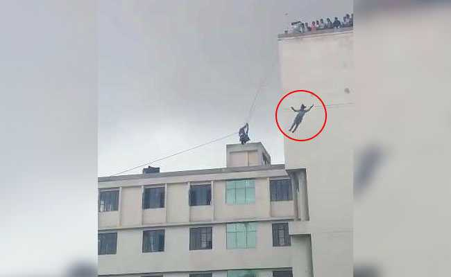 At Zip-Lining Class, Jaipur Student Plunged To Her Death; Fall Was Filmed.