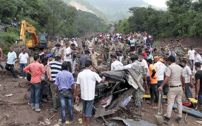 48 passengers Dead In 'Himachal Pradesh Landslide', Rescue Operations To Resume Today