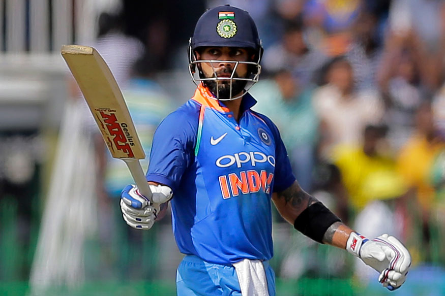 Virat Kohli Takes No.1 Position in ICC ODI, breaks Sachin Tendulkar's 19-year Ranking record