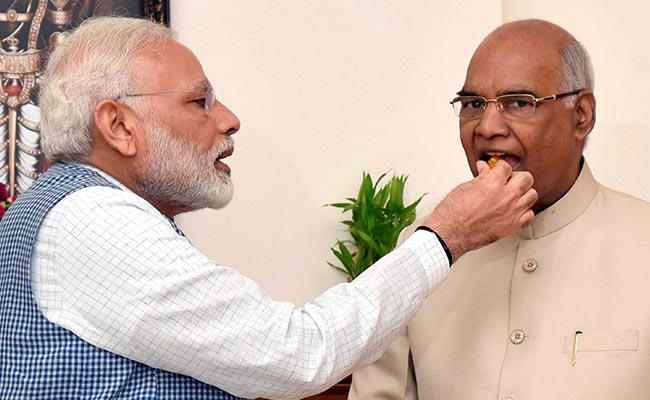 R.N. Kovind To Take Oath As India's 14th President Today