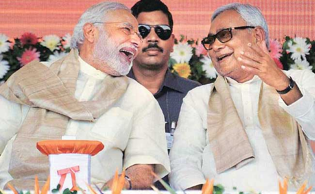 Nitish says none can challenge Modi in 2019,The BJP's Newest Ally