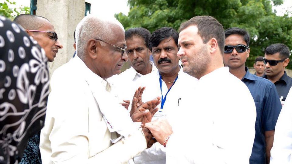 'Stones Won't Stop Us,' Says Rahul Gandhi After Car Attack In Gujarat
