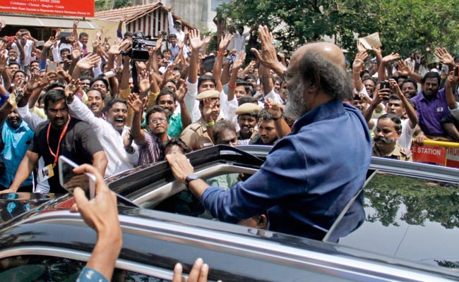 In BJP Boss Amit Shah�s �Welcome� To Superstar Rajinikanth, Some Read Between Lines.