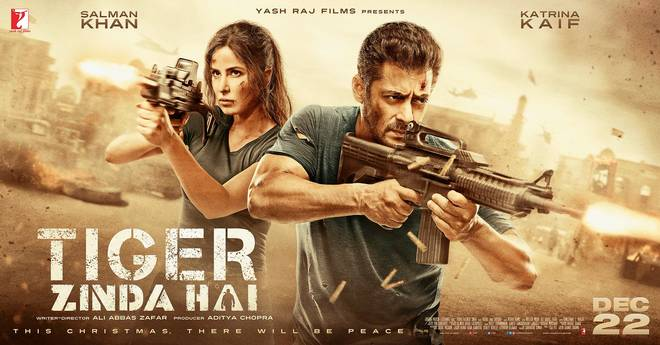 Salman Khan's 'Tiger Zinda Hai' comes out all guns blazing