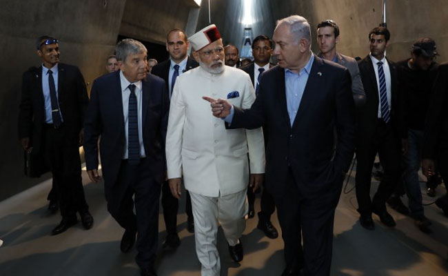 After The Bear Hugs, 7 Deals Signed By PM Modi And Israel