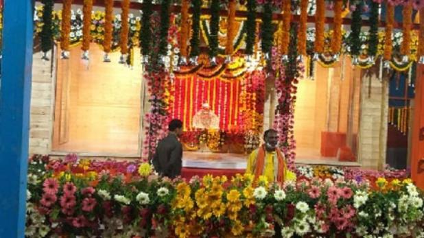अयोध्या में रामलला अस्थायी मंदिर में शिफ्ट, CM योगी आदित्यनाथ बने गवाह