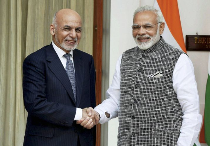 PM Modi and Ashraf Ghani discuss Sino-India training for Afghan diplomats