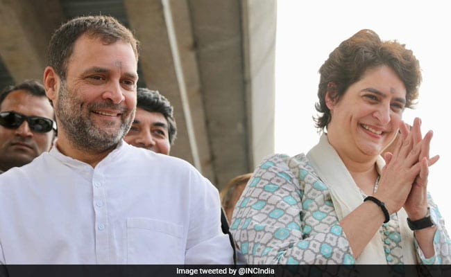 Rahul Gandhi appoints Six AICC secretaries for UP.