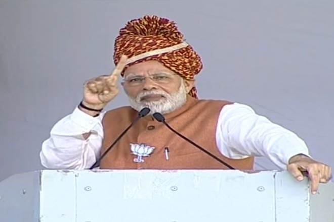 Modi hits back at Rahul Gandhi over Hindu remark