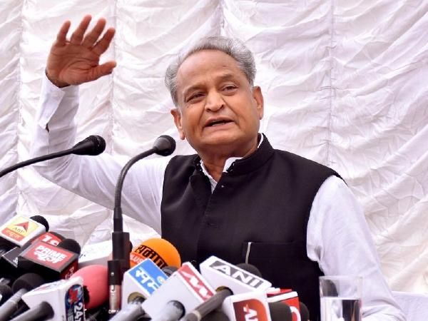 Gehlot seeks Amit Shah is apology for hold by collars remark