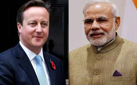 David Cameron Hails PM Narendra Modi's Leadership
