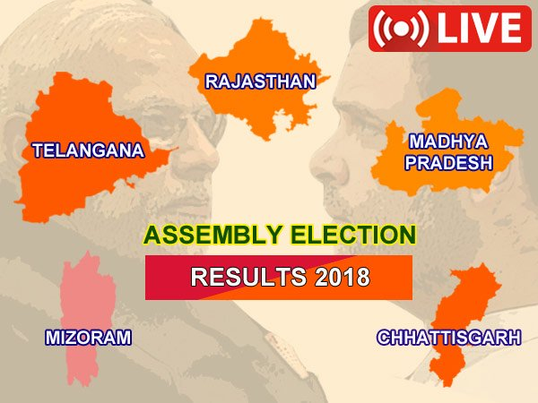 ASSEMBLY ELECTIONS 2018 LIVE RESULT