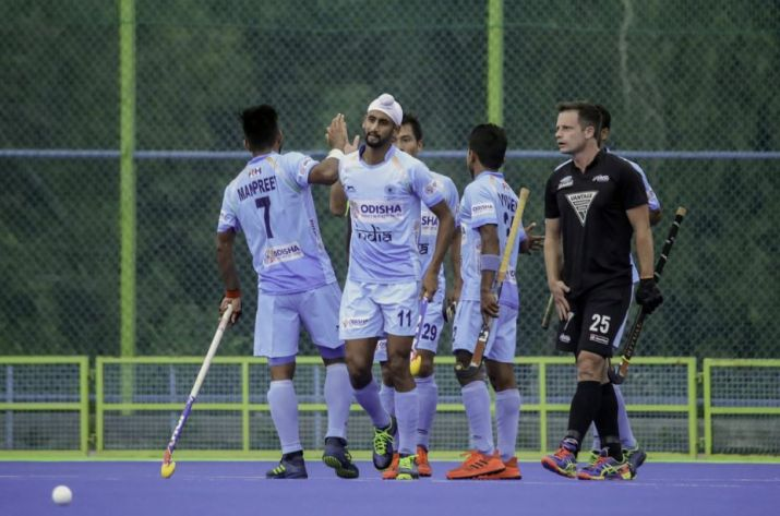 Hockey: India hammer New Zealand 4-0 to complete series whitewash