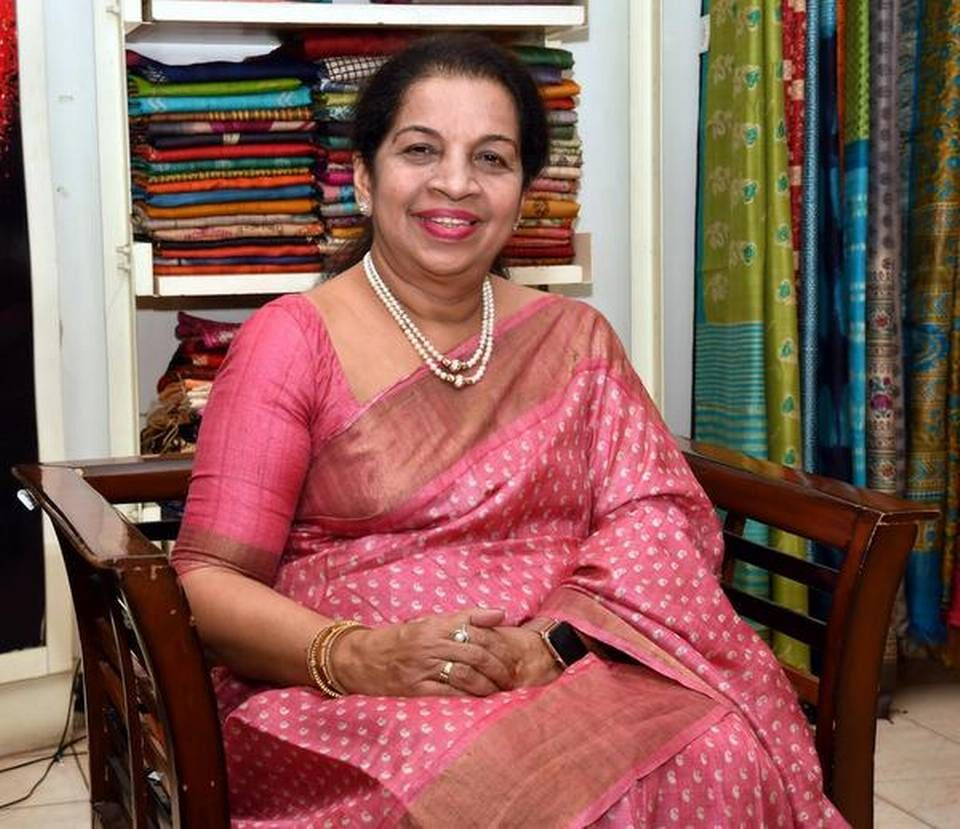 Winner of the Outstanding Woman Entrepreneur of Kerala Award for 2020, Sheila James introduced bespoke clothes in Thiruvananthapuram