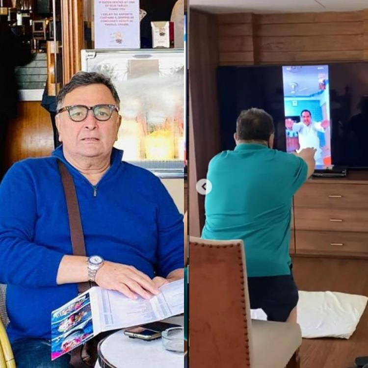 Rishi Kapoor's 'virtual yoga' session is winning hearts; watch video