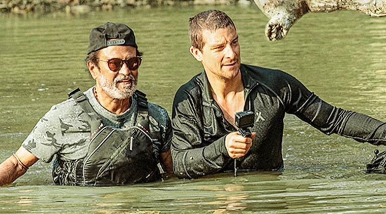 Into the Wild with Bear Grylls and Rajinikanth episode: Highlights
