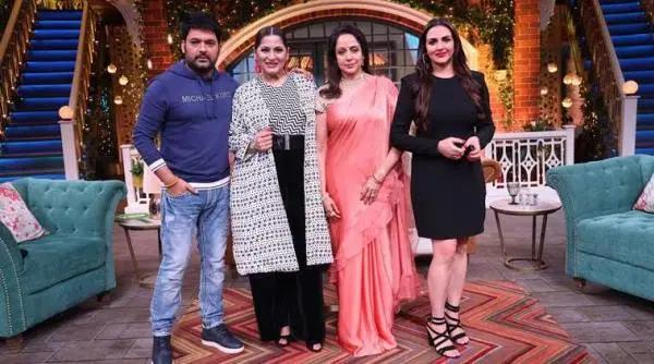The Kapil Sharma Show preview: Hema Malini and Esha Deol grace the stage
