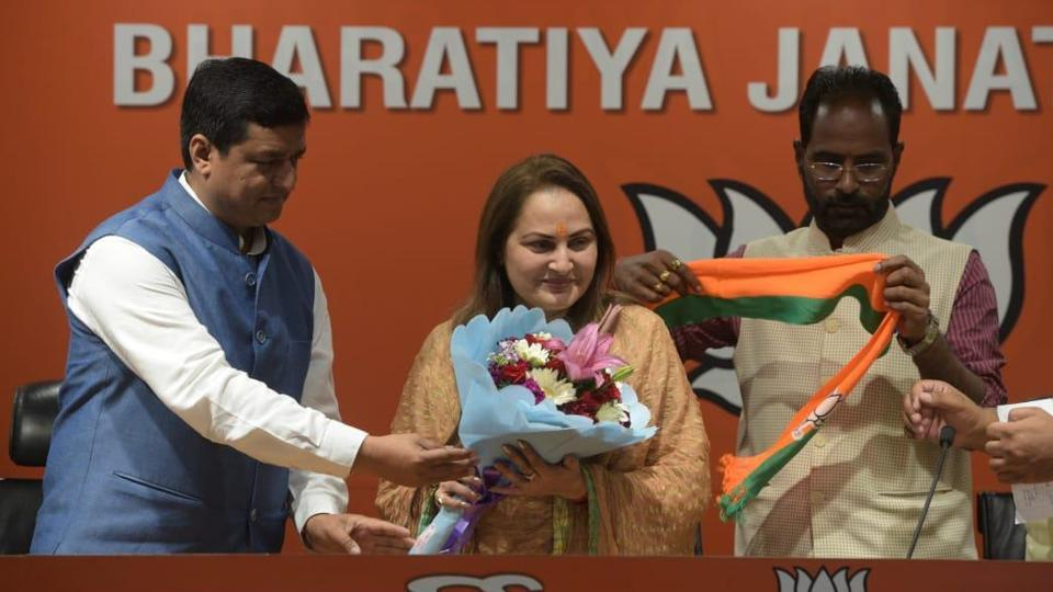 Joins Actor-politician Jaya Prada BJP