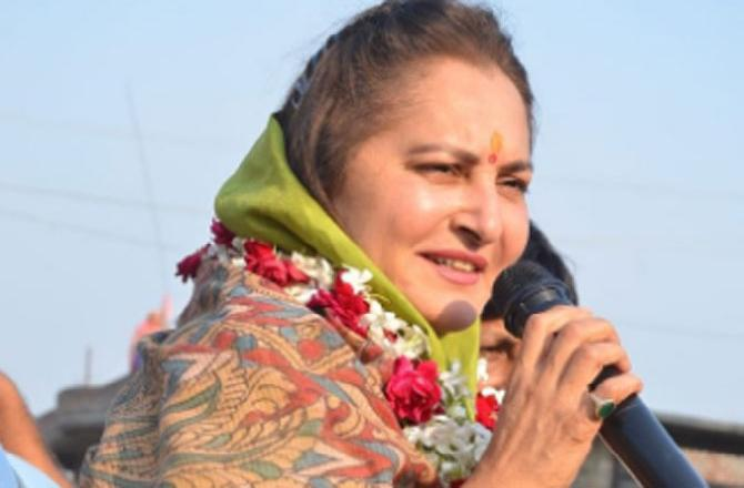 Jaya Prada for 'Advice' to Mayawati on Azam Khan the Case Registered Against