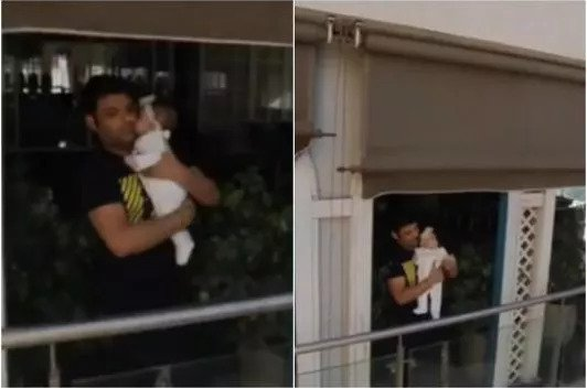 Kapil Sharma, Daughter Anayra Make for an Adorable Sight Cheering Amid Janata Curfew