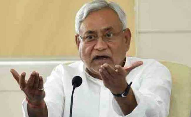 CM Nitish Kumar Calls Slipper Throwing Incident a-Publicity Stunt