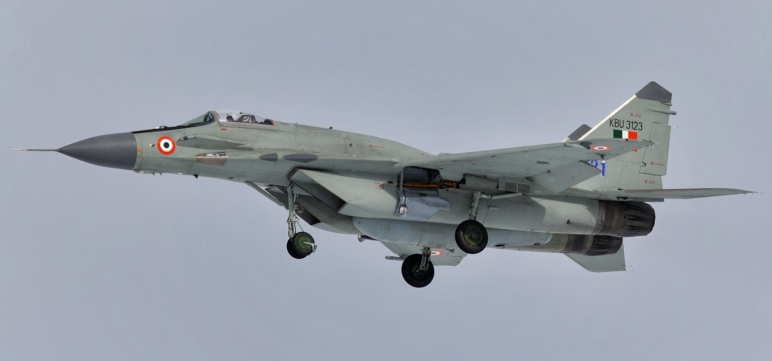 Air Force Today-Upgraded MiG 29 to be Part of Airshow