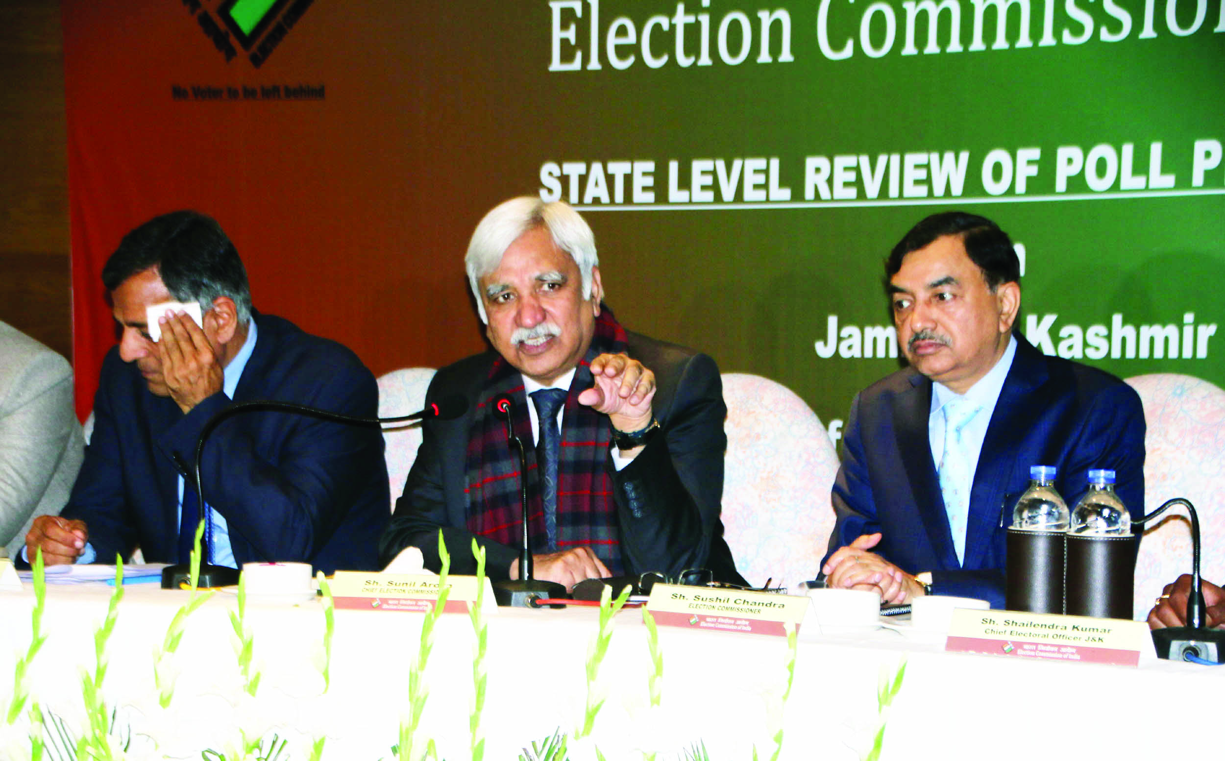 All political parties batted for joint polls in J&K