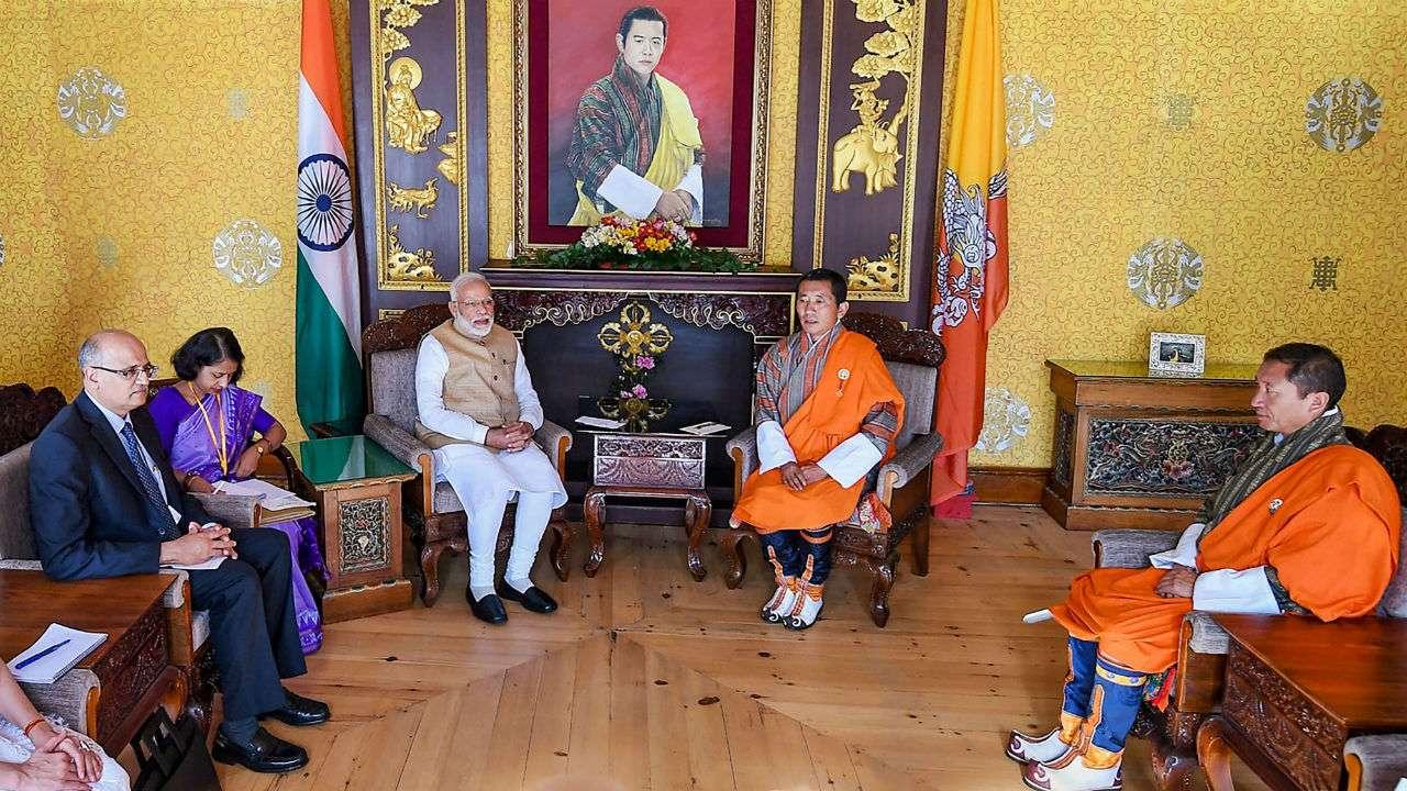 Narendra Modi in Thimpu LIVE: Rupay card Lauches in Bhutan By Prime minister Narendra modi, 9 MoUs Signed