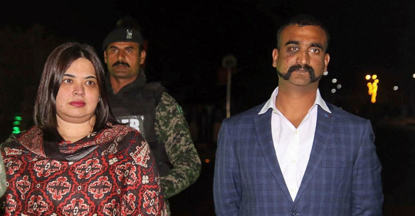 Good to be back in my country, says Abhinandan after release from Pak custody.