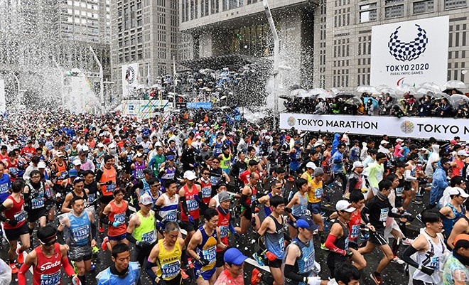 Tokyo marathon cancels mass race over coronavirus scare