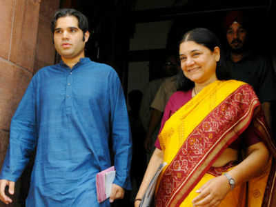 Murli Manohar Joshi dropped; Maneka Gandhi, Varun Gandhi in BJP's list for UP