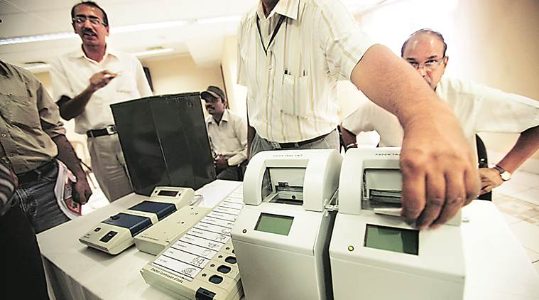 During polling, only 0.34% of the ballot units, 0.39% of the control units and 1.89% of the VVPATs had to be replaced.