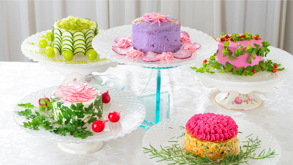Cakes made from Vegetabes