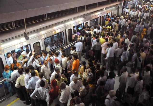 Man shot himself on his headat Rajiv Chowk Metro Station