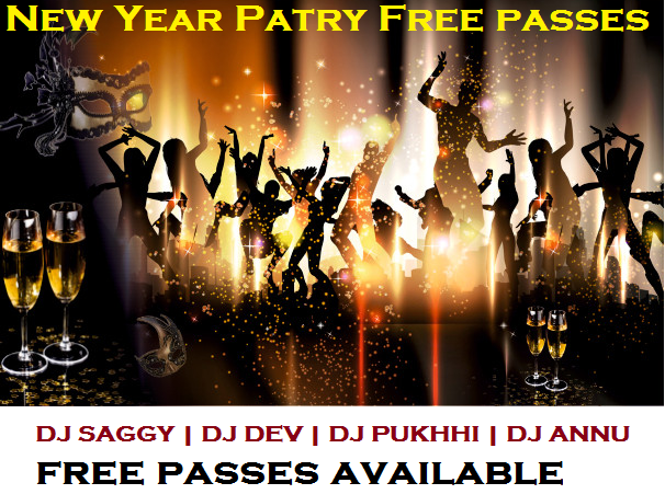 Enjoy New year party with your friends.
