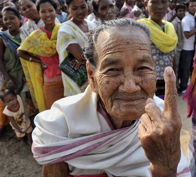 Voting begins in first phase of LS polls; Assam records 12% polling in first 2 hours.