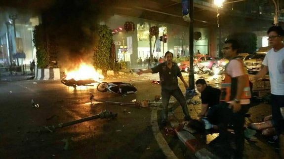 Deadly Bomb Blast Hits Bangkok, Kills 12, Many Injured.