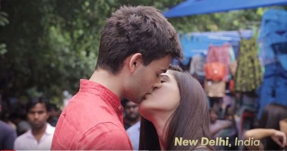 Love Going Viral : Check Out This Beautiful Video Of couples kissing around the world!