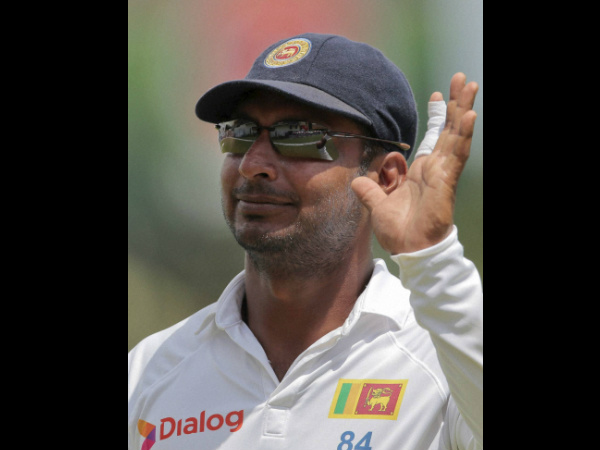Teary Eyed Kumar Sangakkara Bids Adieu to International Cricket